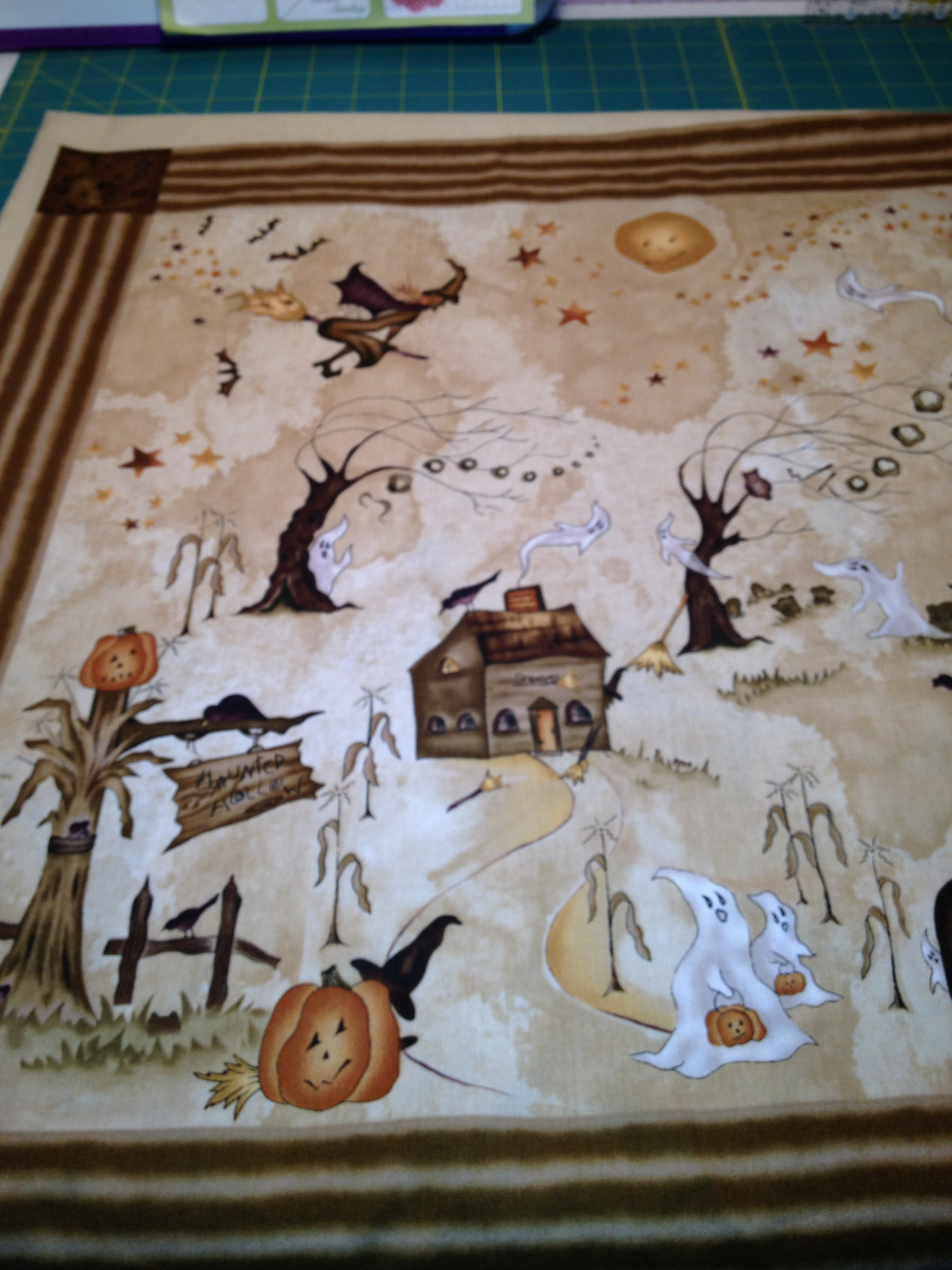 Halloween Fabric Panels